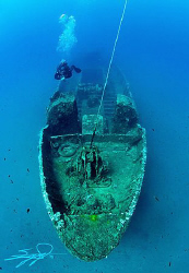 Mytilini Wreck at Halkidiki - Greece by Nicholas Samaras 